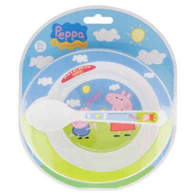 SET 2 PEÇAS MICRO BABY PEPPA PIG