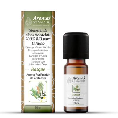 Sinergia de Óleos essenciais biológicos 10 ml – Bosque | Desinfetante