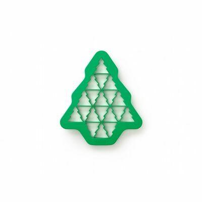 Forma Bolachas puzzle árvore de natal