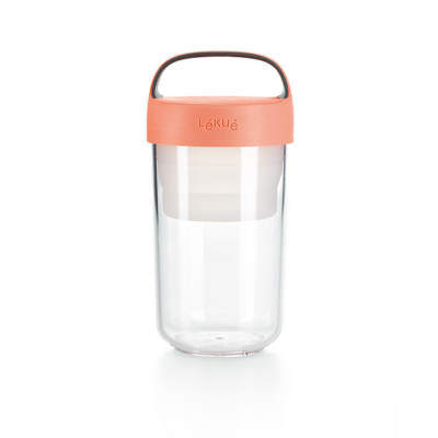 Jar To Go – 600ml Coral