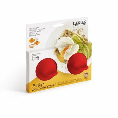 Escalfador de ovos vermelho 2