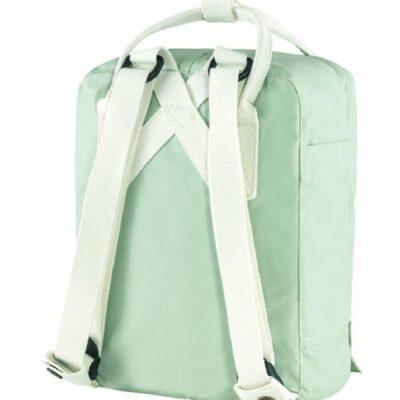 Mochila Kanken mint green cool white